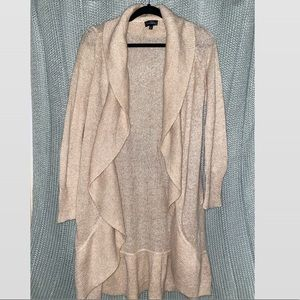 NWOT Women's Loft Cardigan Sweater Tan Medium